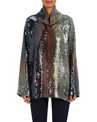 By. Bonnie Young - Sequined Ombré Pullover Top Size 6 - Lyst