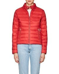 William Rast - Down Puffer Bomber Jacket - Lyst