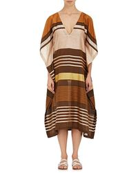 A Peace Treaty - Striped Silk Caftan - Lyst