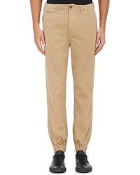 NLST - Cotton Chino Jogger Pants - Lyst