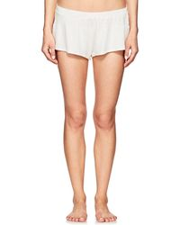 Eberjey - Abby Slub Jersey Shorts - Lyst