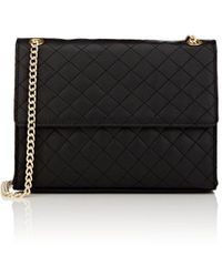 Barneys New York - Quilted Leather Shoulder Bag - Lyst