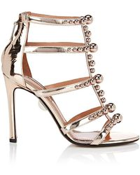 Samuele Failli Kandy Specchio Leather Sandals