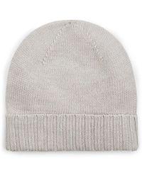 Barneys New York - Rib-knit Wool Beanie - Lyst