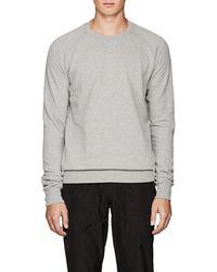 Tomas Maier - Cotton Fleece Sweatshirt - Lyst