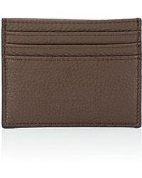 Armani - Leather Card Case - Lyst