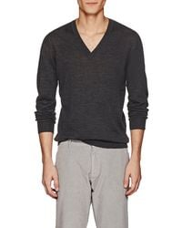 Tomas Maier - Fine Wool V-neck Sweater - Lyst
