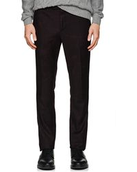 John Varvatos | Mottled Wool Flannel Flat | Lyst