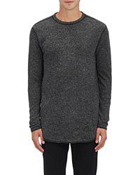 NLST - Heathered Knit Sweatshirt - Lyst