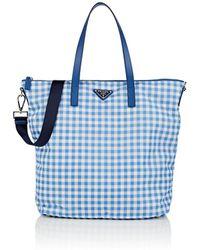 Prada - Donna Lady Shopping Tote Bag - Lyst