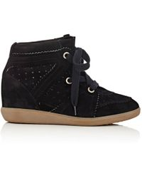 Isabel Marant - Bobby Wedge Trainers - Lyst