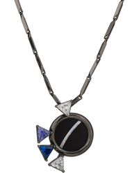 Eddie Borgo - Europa Mini Pendant Necklace - Lyst