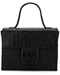 Steven Alan - Meryl Crocodile-stamped Leather Box Bag - Lyst