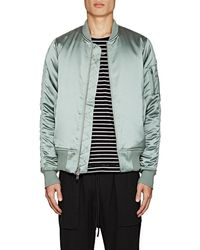 Stampd - Ma-1 Tech-satin Bomber Jacket - Lyst