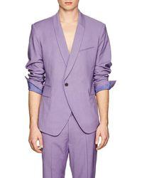 Haider Ackermann - Basket-weave Wool One-button Sportcoat - Lyst