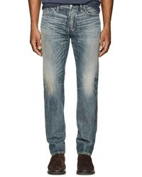 RRL - Low Straight Jeans - Lyst