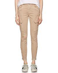 J Brand - Houlihan Mid-rise Skinny Crop Cargo Jeans - Lyst