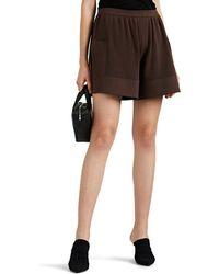 Rick Owens - Knit Cotton Shorts - Lyst