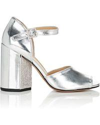 Marc Jacobs - Kasia Specchio Leather Sandals - Lyst