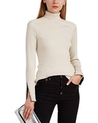 Rag & Bone Brynn Rib-knit Turtleneck Jumper - White