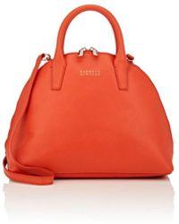 Barneys New York - Leather Bowler Bag - Lyst