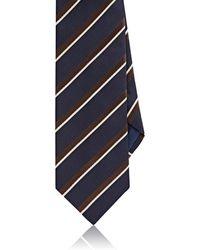 Luciano Barbera - Repp Stripe Silk - Lyst