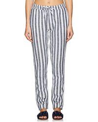 Onia - Ella Linen-cotton Drawstring Pants - Lyst