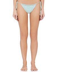 She Made Me - Essentials Cotton Bikini Bottom - Lyst