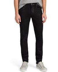 RTA - Frankenstein Distressed Skinny Jeans - Lyst