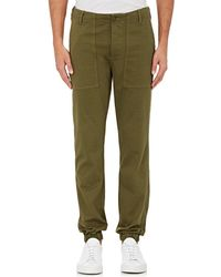 NLST - Cotton Jogger Trousers - Lyst