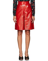 Vivetta | Geelong Leather Shorts | Lyst
