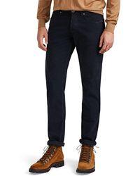 Eleventy - Coated-patch Moleskin Slim Jeans - Lyst