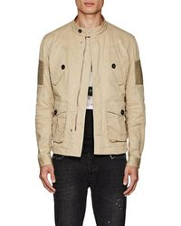 DSquared² - Cotton Twill Bomber Jacket - Lyst