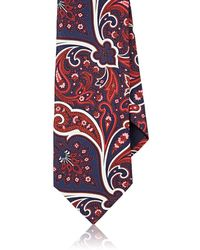 Barneys New York - Paisley Silk Satin Necktie - Lyst