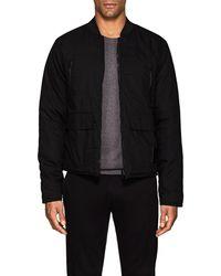 Blank NYC - Reversible Cotton & Tech-satin Bomber Jacket - Lyst