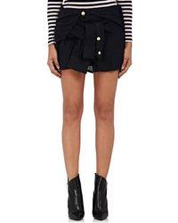 Faith Connexion - Tweed shirt Miniskirt - Lyst