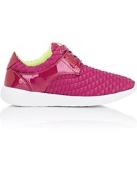 Repetto - Patent Leather & Nylon Sneakers - Lyst