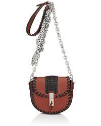 Altuzarra - Ghianda Mini Chain Saddle Bag - Lyst