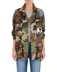 Icons - Camouflage Cotton Twill Field Jacket - Lyst