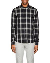 IRO - Albion Plaid Cotton-blend Shirt - Lyst