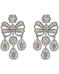 Kenneth Jay Lane - Chandelier Drop Earrings - Lyst