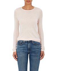 Barneys New York - Fine-gauge Knit Silk-cashmere Sweater - Lyst