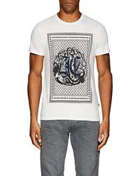 Just Cavalli - Logo-print Cotton T-shirt - Lyst