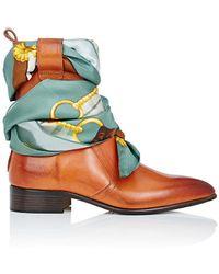 Maison Margiela - Leather Scarf - Lyst