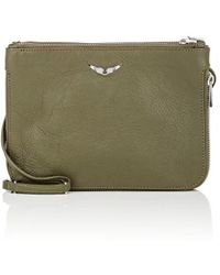 Zadig & Voltaire - Clyde Small Leather Crossbody Bag - Lyst