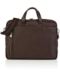 Barneys New York - Leather Briefcase - Lyst