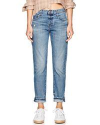 Current/Elliott - The Selvedge Taper Jeans - Lyst