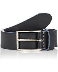 Barneys New York - Two-toned Leather Belt - Lyst