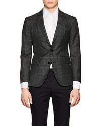 Brooklyn Tailors - Bkt50 Checked Wool Two - Lyst