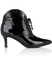 Opening Ceremony - Vicky Patent Leather Ankle Boots - Lyst